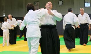 AIKIDO 33 stage Peyrache, les photos